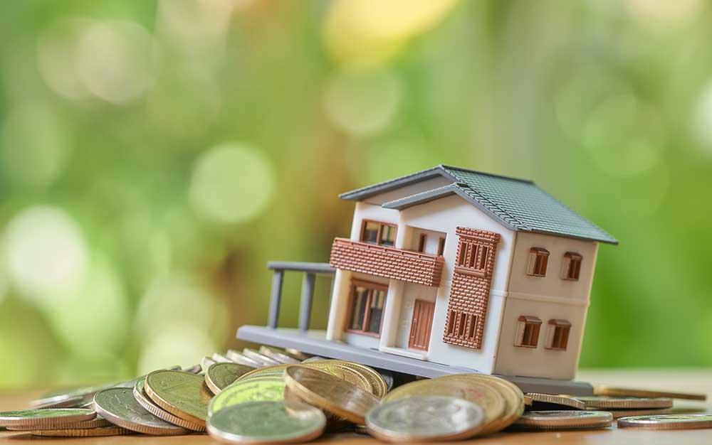 Crédito para financiamento imobiliário em queda